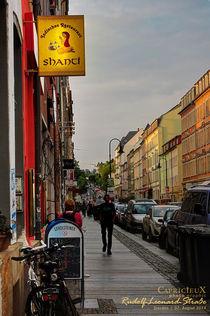 Rudolf-Leonard-Strasse | Dresden  von Denise Kühne