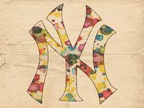Yankees Vintage Art von Florian Rodarte