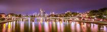 Skyline Frankfurt Panorama von photoart-hartmann