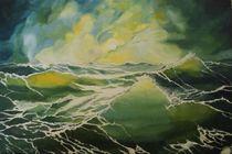 Sturm - Meeresstimmung von Helmut Hackl