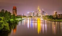 Skyline Frankfurt III von photoart-hartmann