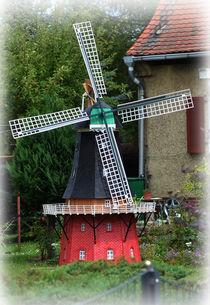 Windmühle Modell 1 by Georg Tausche