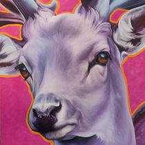 Hirsch pink von Renate Berghaus