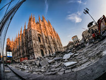 Destruction at Duomo von Alessandro Carpentiero