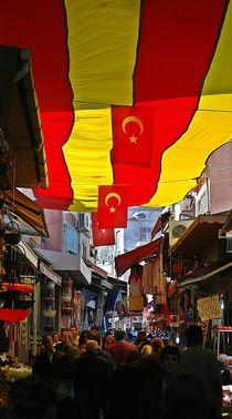Markttreiben auf türkisch by loewenherz-artwork