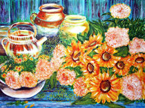 Stillleben mit Blumen von Irina Usova