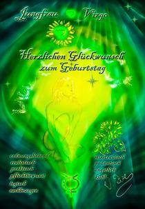 Allen Sternzeichen Jungfrau herzlichen Glückwunsch zum Geburtstag ! by Walter Zettl