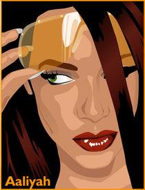 Aaliyah tribute by Laura Gargiulo