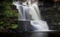 River Clydach waterfalls by Leighton Collins
