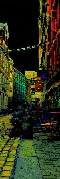 coloured alley III.I von ursfoto