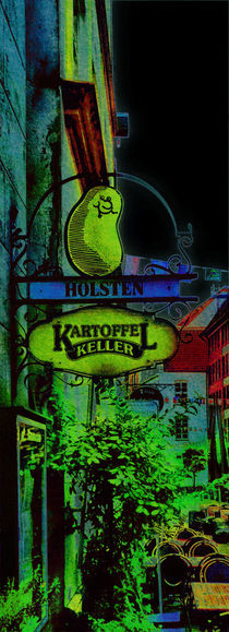 coloured alley II.I von ursfoto