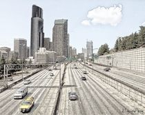 Seattle anno 2010 by Wolfgang Pfensig