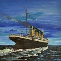 R.M.S. TITANIC by Peter Schmidt