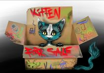 Kitten For Sale by tintenrebell