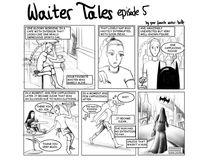 Waiter Tales Comic, episode 5 by Dora Vukicevic