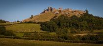 Carreg Cennen Castle near Trap von Leighton Collins