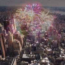 Feuerwerk in New York by mehrfarbeimleben