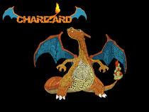 Charizard The Flame Pokemon von sirhappyness