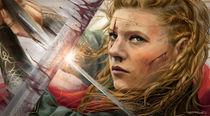 Vikings Lagertha by Tobias Goldschalt
