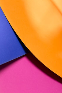 Orange, Blue & Pink by visualcreature
