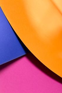 Orange, Blue & Pink von visualcreature