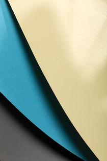 Yellow, Cyan & Grey by visualcreature