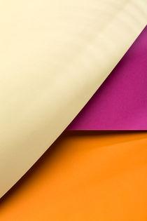 Yellow, Pink & Orange von visualcreature