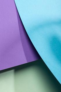 Cyan, Purple & Green von visualcreature