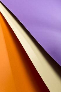 Purple, Yellow & Orange von visualcreature
