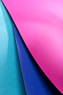 Pink, Blue & Cyan von visualcreature