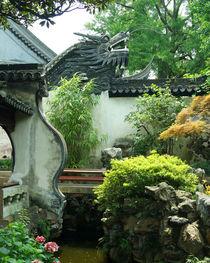 Mauerdrache im Yu-Garten von Sabine Radtke
