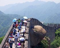 Auf der Chinesischen Mauer von Sabine Radtke