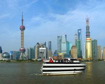 Shanghai Pudong by Sabine Radtke