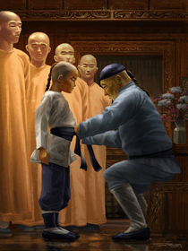 Young Shaolin by Tobias Goldschalt