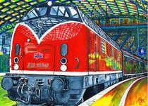 Eisenbahn Lok 221 von anel