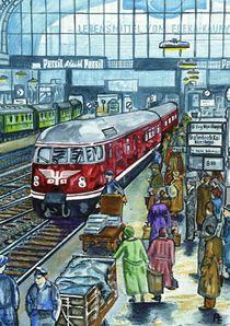 Eisenbahn Lok VT08 von anel