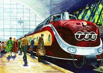 Eisenbahn, Trans Europ Express, TEE von anel
