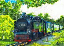 Rasender Roland, Eisenbahn von anel