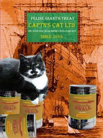 Captn's Cat Ltd - Feline Giant's Treat von Wolfgang Schwerdt