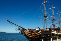 Pirate Ship von Patrycja Polechonska