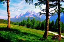 Poster Berge in Südtirol by Doris Krüger