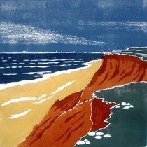 Rotes Kliff by Dieter Tautz