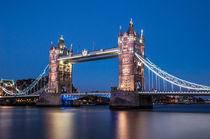 London Tower Bridge I von elbvue von elbvue