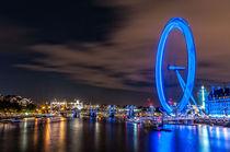 London Eye I von elbvue by elbvue