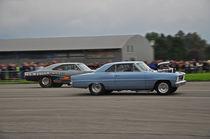 1966 Chevrolet Nova + Dodge Charger Dragracing by Mark Gassner