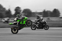 Kawasaki ZX 10 R Ninja Wheelie Colorkey von Mark Gassner