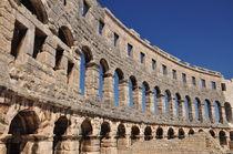 Kolosseum von Pula, Istrien von Mark Gassner