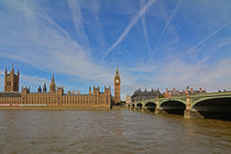 London: Big Ben, Westminster Palace by Mark Gassner