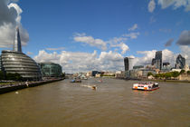 London: Blick von der Tower Bridge von Mark Gassner