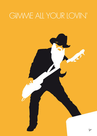 No044-my-zz-top-minimal-music-poster